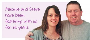 Melanie and Steve Fletcher have been fostering with us for six years